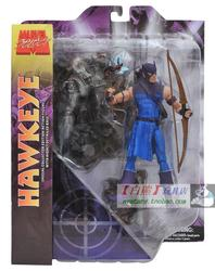 代购 DST 正版 漫威 MARVEL SELECT MS 7寸 鹰眼 HAWKEYE 不挑盒