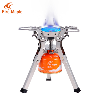 Genuine maple fire picnic large fire stove cooking stoves FMS-108 high-power integrated gas camping stove