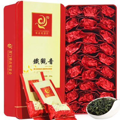 Ya xin yuan Tieguanyin tea Oolong tea superfine qing scent anxi tieguanyin tea gift boxes of 250 g