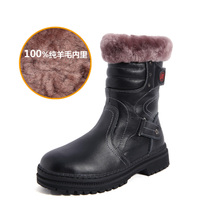 Paragraph 9 male children 10 winter leather 11 12 year old little boy of eight add flocking boots cotton cotton shoes 7 cotton boots