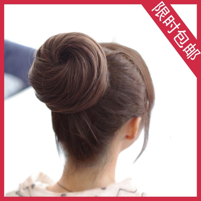 Как сделать объемную шишку на волосах