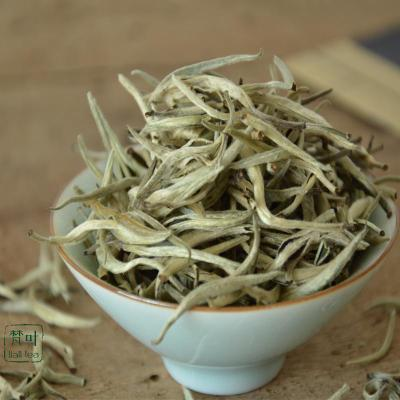 Baekho silver needle White tea tea South waxy white hair quality is higher than fuding white tea Ecological organic white tea