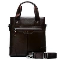 新款特价真皮男包商务男士手提包竖款单肩包斜挎背包牛皮男士包包
