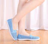 夏季镂空网面布鞋