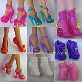 Over a hundred free shipping genuine ㊣Barbie genuine Barbie doll elf shoes high school high school monster barrel boots