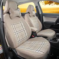汽车专用坐套定制座套全包围汽车座椅套四季加厚亚麻布套子新款