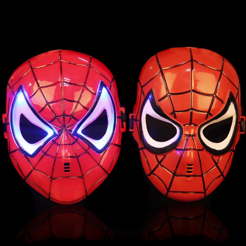 爱新奇儿童节派对儿童面具化妆舞会面具动漫卡通面具 蜘蛛侠面具图片