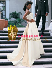 2014 han edition Autumn and winter wedding dresses Simple personality Fashion big tail zipper euramerican style