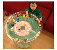加厚充气新生婴儿游泳池幼儿童游泳桶宝宝洗澡桶透明