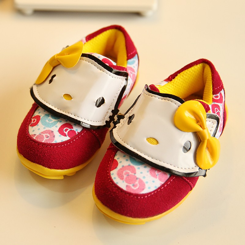 Autumn 2014 new Korean children's shoes casual shoes women shoes princess shoes baby shoes toddler shoes KT cat