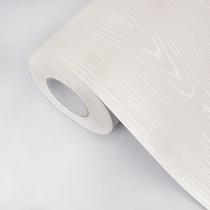 木纹纸旧家具翻新贴衣柜贴纸柜子橱柜桌面加厚防水自粘墙贴画墙纸