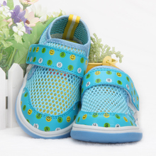 Harry baby the 1-2-3 - year - old male children toddler shoes baby sandals female children net summer baby soft bottom shoes