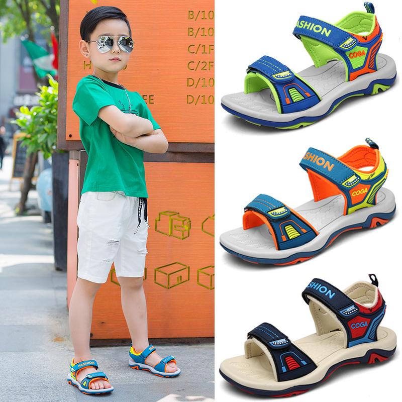 男童凉鞋2017新款韩版夏季小童中大童鞋男孩学生防滑儿童沙滩鞋潮