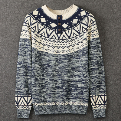 Semir version is shipping new winter sweater male dominated with a solid color sweater thick sweater male Korean version