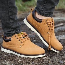 The new spring 2015 men's singles shoes restoring ancient ways British men's fashion joker outdoor recreational leather shoes