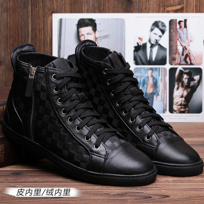 Yves Barre new winter European and American fashion leather men's business casual trend of men's shoes