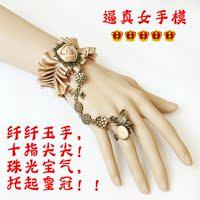 高仿真 PVC手模 吉娅手模 模特手模 假手 展示手模 塑料手模模型