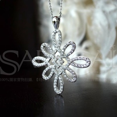 SaraCai.com mixer exclusive custom! Exported to South Korea Enchant necklace sweater chain