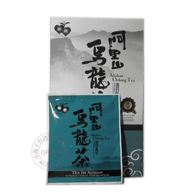 Lian xing Taiwan high mountain alishan oolong tea bag - scent (25 bags/box) have tea with gold award