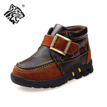 Counters authentic USATIGER male Z615 leather car suture leather Velcro shoes on sale promotion