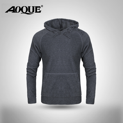 aoque / continental forest in autumn and winter sports hooded long-sleeved pullover sweater men fleece jacket YLM