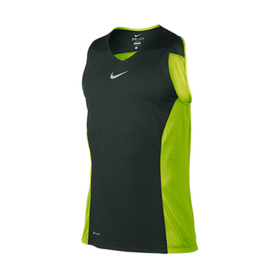 Nike / Nike Men's sleeveless vest men's round neck cashmere tights training new sports T-shirt 618322
