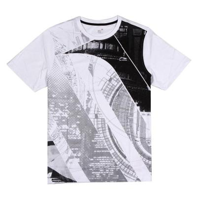 Lining / Li Ning men's short-sleeved T-shirt round neck T-shirt riding men sweater sports T-shirt AHSG027