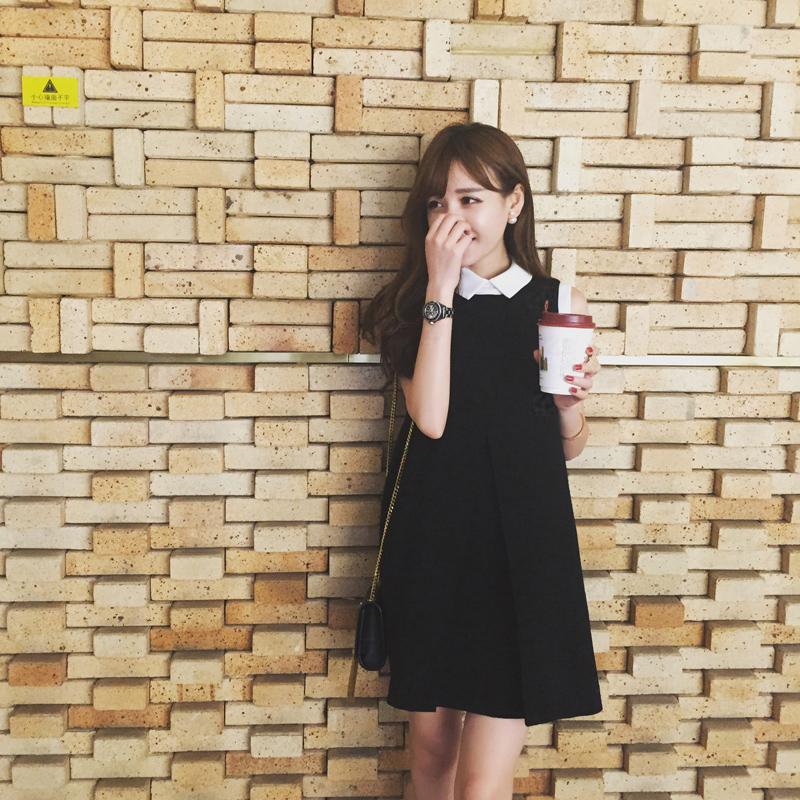 sasa小姐 独家定制  质感 经典优雅的赫本范儿 小翻领连衣裙