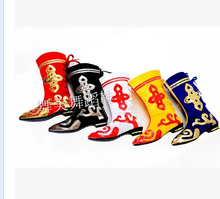 Shoes Mongolian boots xinjiang folk dance boots boots female Ancient dance shoes boots