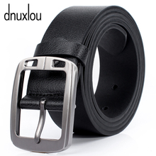 Dnuxlou belt flagship store man leather leisure leather obi pin buckle quality goods a full change for money