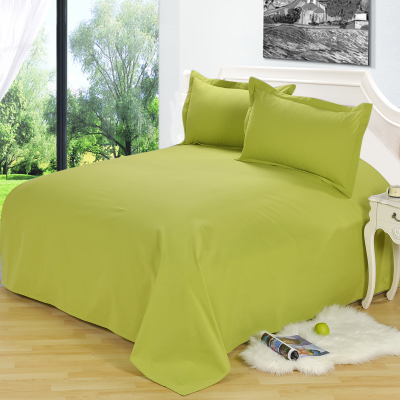 Hwacheon old coarse cotton one-piece solid thick cotton linens person household linen sheets Double students