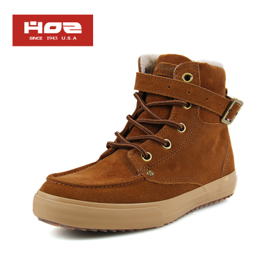 HOZ Backstreet spring and summer shoes high-top canvas shoes, canvas shoes female Korean flat shoes shoes JDAL22F80