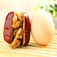 爆款包邮特价红枣加核桃250中国大陆山西省初级农产品原味无核枣