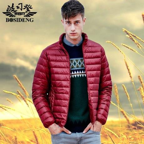 波司登羽绒服新款男士短款轻薄超薄立领青年运动便携秋冬外套商品大图