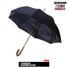 识货正品 LONDON UNDERCOVERNavy Contour Interior 限量雨伞