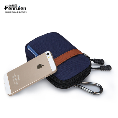 Men wear a belt bag phone pockets small purse Korean fashion trend of casual outdoor mini bag Wallets