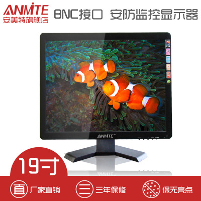Anmite / Atotech 19 inch LCD monitor security surveillance monitor BNC computer display device