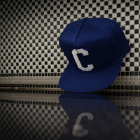 "CASTERWEAR ""The Great C snapback""C字经典款搭扣棒球帽平檐帽"