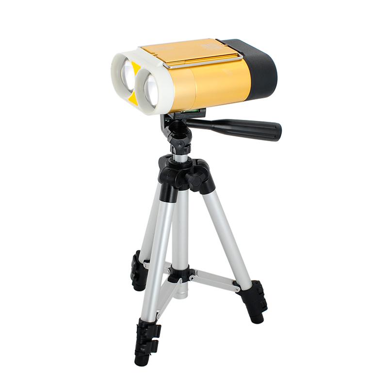 蓝光灯黄光灯保护眼睛双光源大支架落地夜钓灯CREE三千越甲钓鱼灯