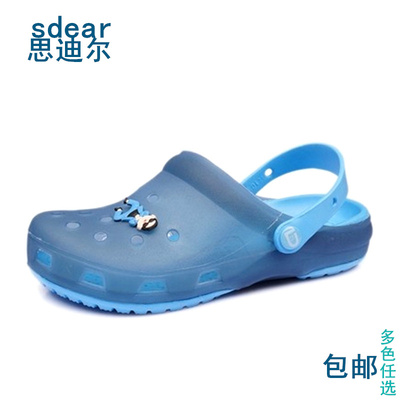female big boy t-plastic garden bird hole shoes jelly shoes boys Baotou summer beach sandals free shipping