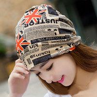 【天天特价】买2送1包头帽套头帽两用围巾围脖男女潮月子帽围巾