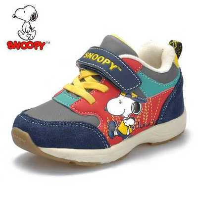 Snoopy's shoes new boy sneakers 2015 spring tide children soft bottom toddler shoes function of baby shoes