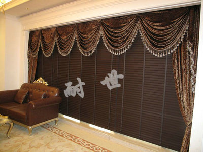 English Lang Sibu upscale cloth blinds venetian blinds 50mm shade cloth home office blinds