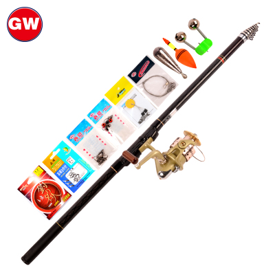 Genuine Guangwei Angeles fishing rod + Guangwei GFW30 fishing vessel fishing gear fishing rod suit suits fishing rods fishing vessel