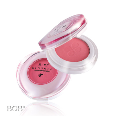 Orange brightens the face makeup genuine nude makeup 12 color / BOB Qinfu Bright pink blush 4.3g