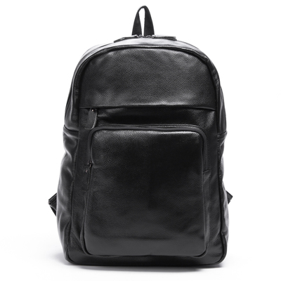 Head layer cowhide men shoulder bag leather leisure business men's bags travel travel backpack han edition black bags