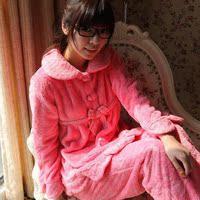 特价正品 安之伴 冬款 珊瑚绒套头睡衣加厚保暖珊瑚绒睡衣30812