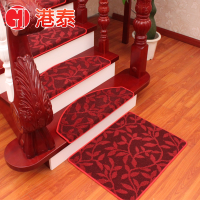 Hong Kong and Thailand stair carpet glue-free adhesive pad thick non-slip mats staircase stairs pad 5% discount