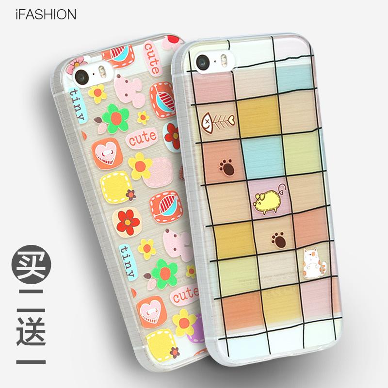 iphone6s4.7手机壳小米6plus透明软壳5.5寸水为什么苹果6手机荚不到连接豌豆图片