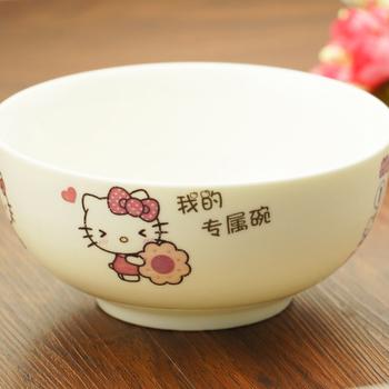 定制碗 情侣碗 刻字印字logo广告碗寿碗婚庆创意碗卡通人物礼品碗